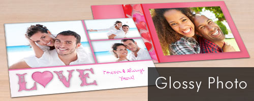 Photo Glossy slimline greeting Cards for any Occasion