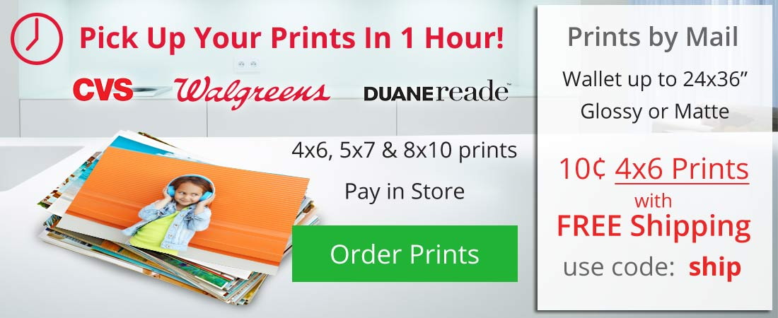 1 Hour Photo Prints, Shop cheap prints, Pick up your pictures today