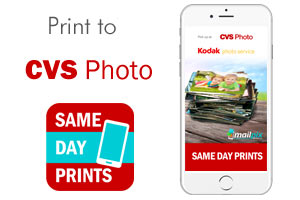 Print to CVS with MailPix Same day Prints