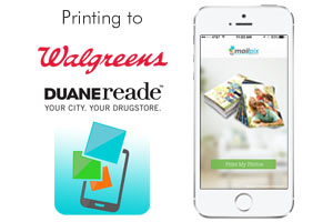 Print to Walgreens with MailPix Same day Prints