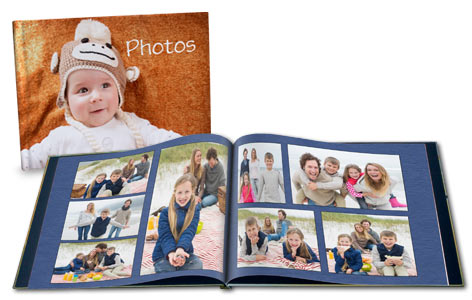 Customize your very own personalized album with our bevy of custom templates and layouts.