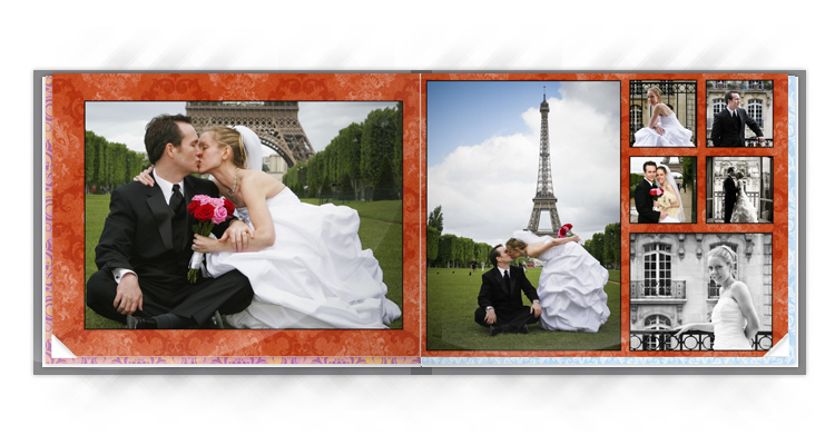 Photo Book Style and Background set