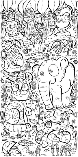 Color your own wallpaper with coloring book wallpaper perfect for kids