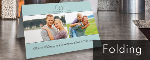 Choose from dozens of templates to create the ultimate classic folding card with your own photos.