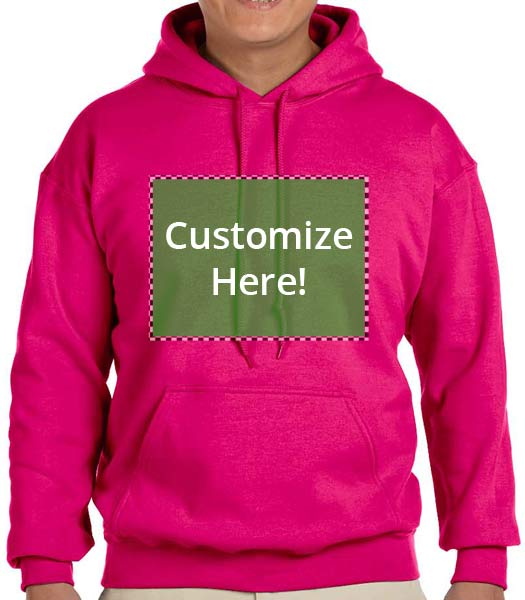 Personalized Heliconia Color Hooded Sweatshirt