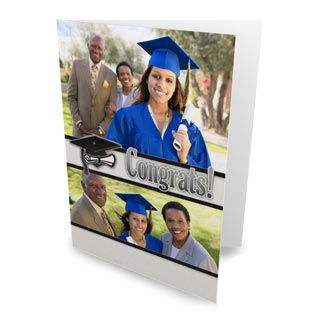 Folding Graduation Cards and Announcements