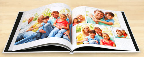 Create your own photo memory book with Mailpix Custom Hardcover Books