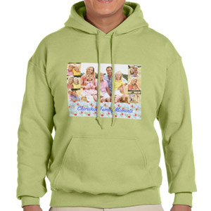 Custom Printed Kiwi Hooded Sweatshirt Selection