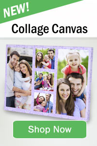 Create photo collage canvas prints using multiple pictures!