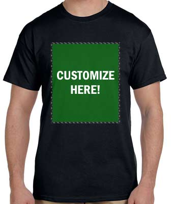 Personalized Black T-Shirt