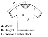 Measuring your Personalized T-shirt