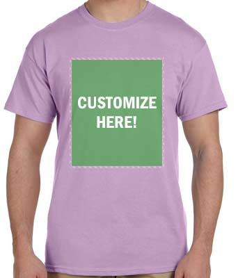 Personalized Orchid T-Shirt