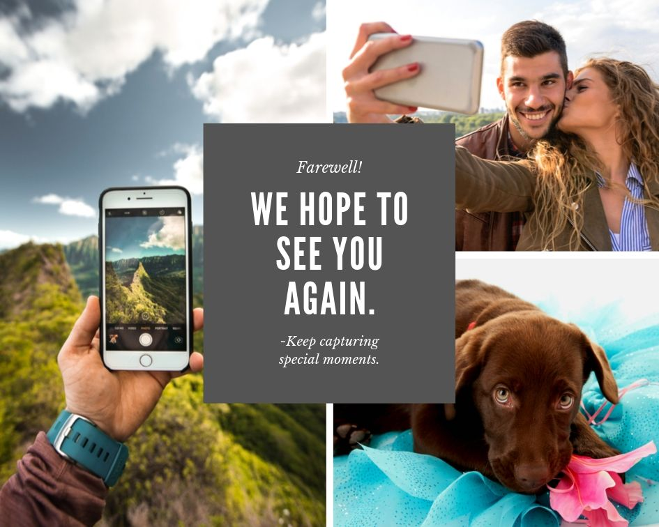Capture wonderful memories and print them with 1 Hour Photo App