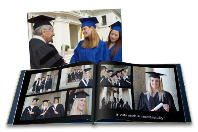 Design your own personalized album with a series of your best photos and text.