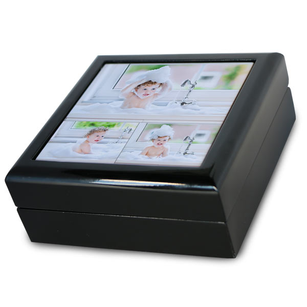 Create a beautiful black lacquer gift box to keep your precious belongings or jewelry