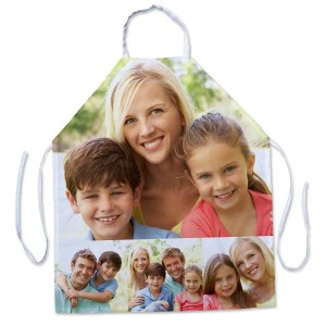 Customize your own apron and show off your favorite pictures while working in the kitchen.