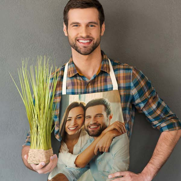 Customize your own apron, fully printed to create the perfect gift