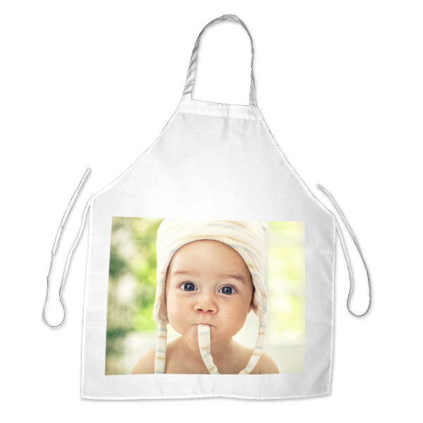Create the perfect gift for your household chef with a photo personalized apron