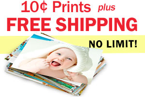 Free Shipping on Photo Prints!  Order Prints for only 10 cents each from MailPix.