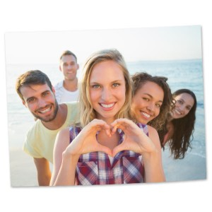 Frame your favorite photo with our 11x14 enlargment prints and add character to your home decor.