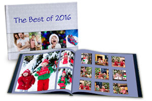 Personalized glossy photo cover books and picture albums, perfect for keeping your photos together and ready to share.