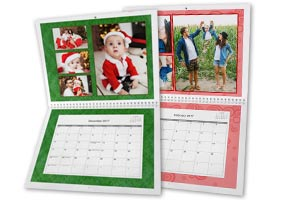 Create a custom photo calendar for 2017, the perfect holiday gift!
