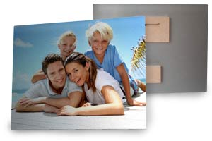 Print your photos to real metal, aluminum photo prints from MailPix