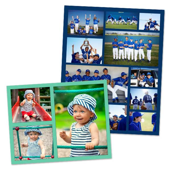 Make your own poster or collage and choose from many different poster sizes.