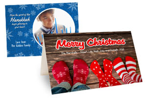Photo Personalized Greeting cards availabe in various sizes and styles now for 60% off regular price