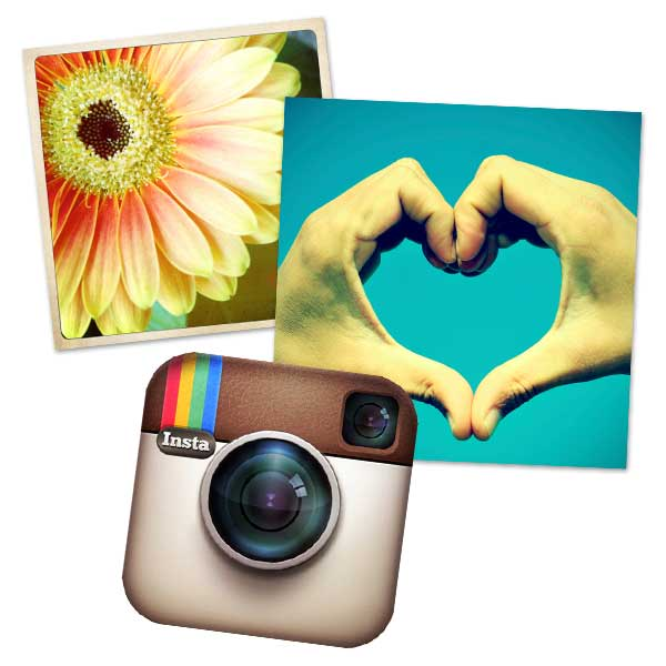 Print your Instagram images on one of our many square print size options.