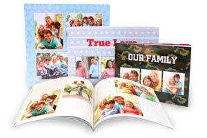 Professionally bound soft cover photo books are the perfect small album for sharing your photos