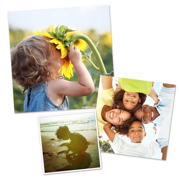 Select from a variety of sizes, and print the perfect square photo for any occasion.