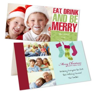 Send your love to family and friends this year with our photo Christmas cards and greetings.