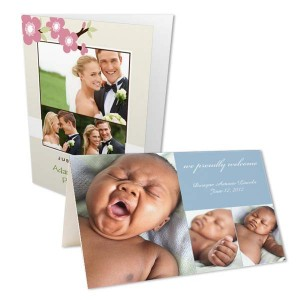 MailPix offers happy Valentine's Photo Cards for customization.
