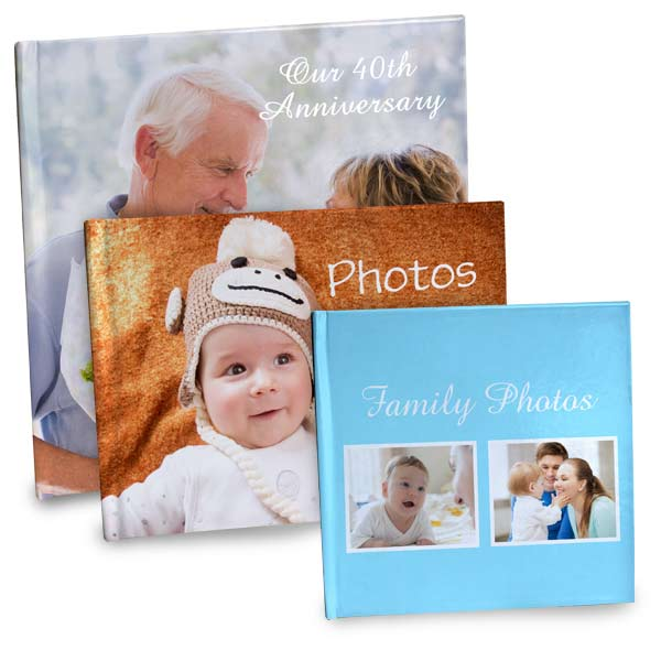 Create a beautiful hard cover photo book to display your precious photographs and moments