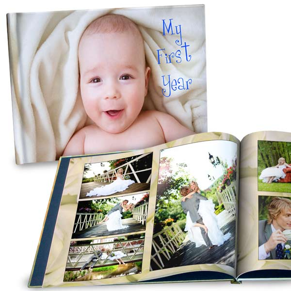 Create your own large size photo album with photos and personalized stories