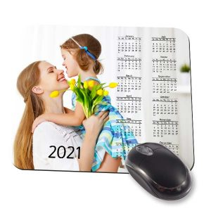 Add color and memories to your desk with a custom calendar mouse pad