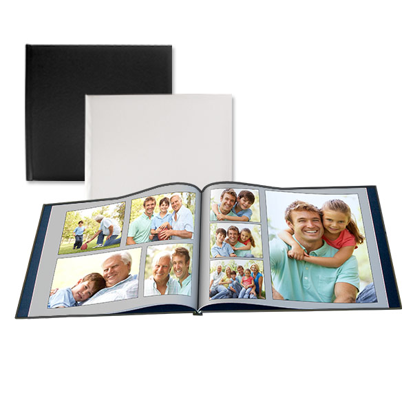 Our leather cover 12x12 book can be fully customized to display your most treasured memories, no matter the occasion.