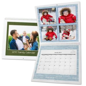 Extra large wall calendar for your home or office for 2017