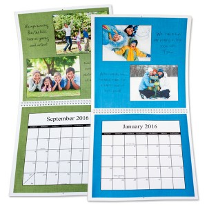 Large Personalized Photo Calendars for your wall 12x12 calendars