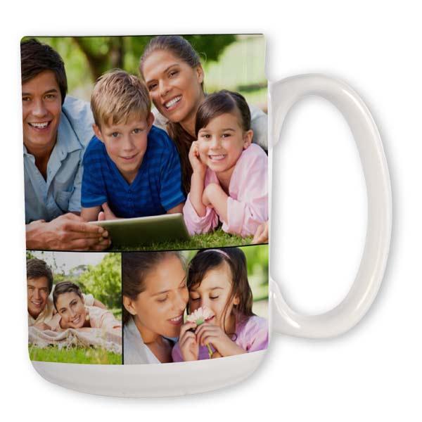 Personalized Photo Collage Mug
