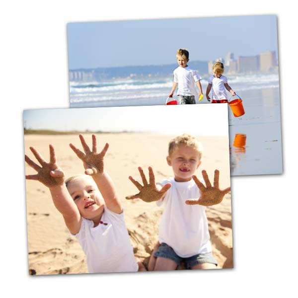 Our 4x5 prints are the perfect aspect ratio to prevent cropping on your digital phone prints.