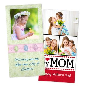 Create a Card for mom wishing her Happy Mother's day or create a personalized Easter Card