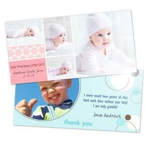 MailPix offers fun templates for 4x8 Valentine metallic photo cards!