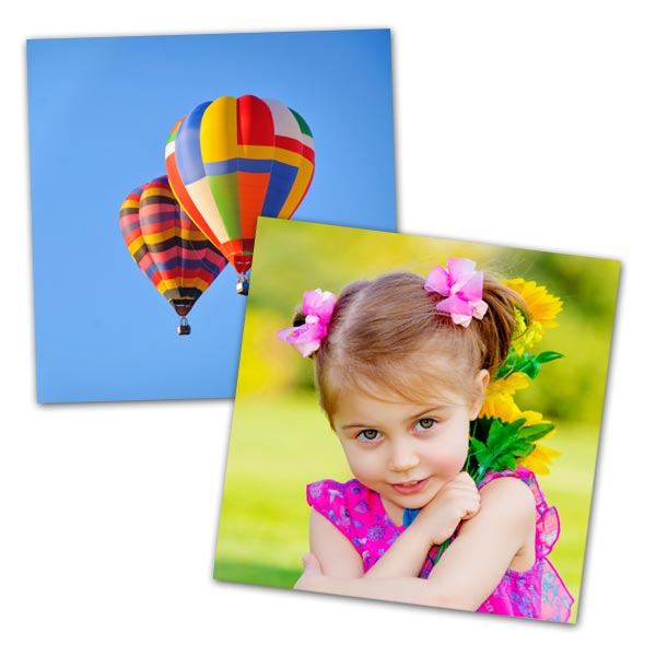 Bring your favorite square images to life with our high-quality 5x5 photo prints.