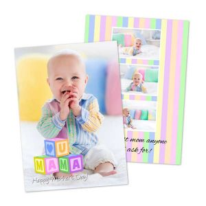 Create your own Mother's Day Card with MailPix Double Sided Photo Cards