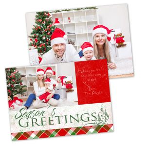 Christmas Picture Cards.Cheap Double Sided Photo Cards Any Occasion Mailpix