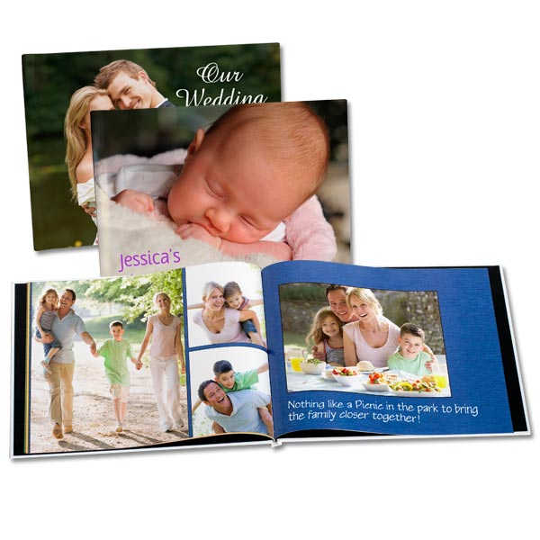 8x10 Photo Cover Books, Photo Books with Personalized Covers