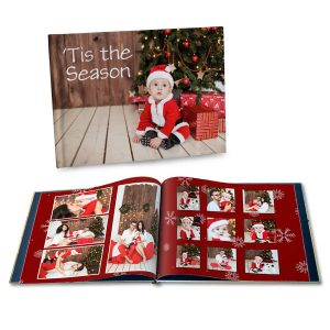 Create a personalized Christmas photo book to celebrate your best holiday memories in style.