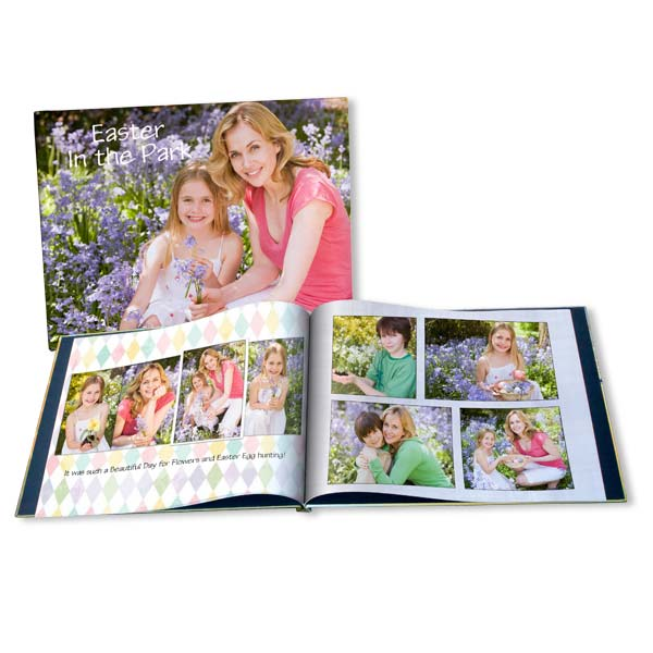 Display all of your prized Easter memories together with our customized Easter books.
